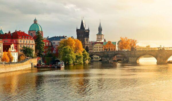 Золота осінь в Празі